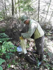 adrian wydeven trapping small mammals (1)